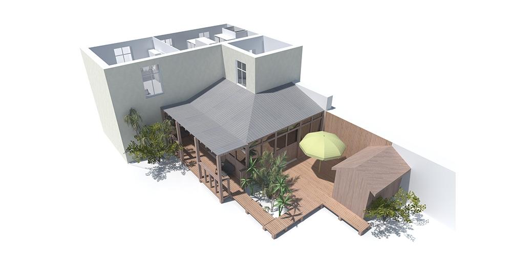 acanthe r alisation restructuration et extension d une maison individuelle orleans. Black Bedroom Furniture Sets. Home Design Ideas