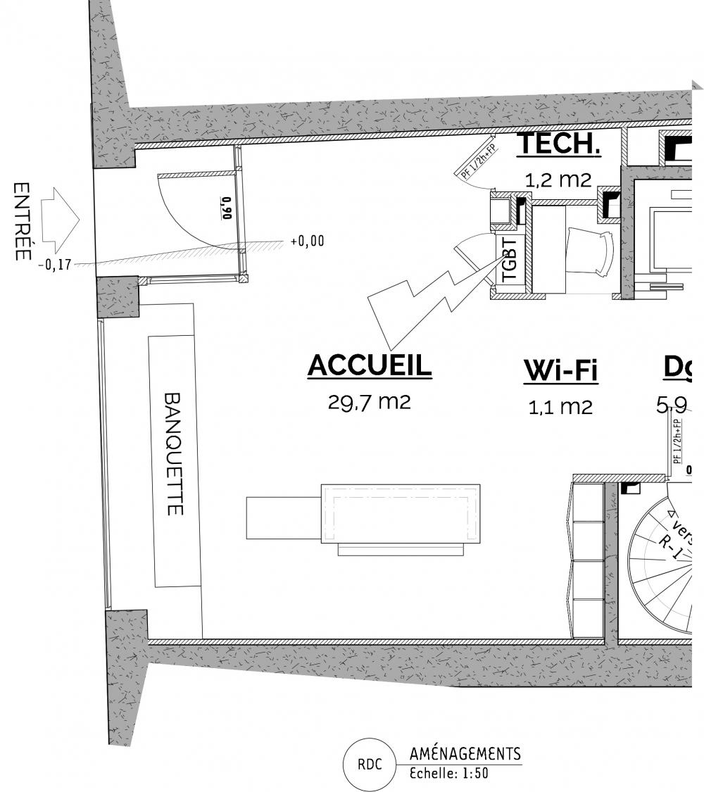 Mise en accessibilité d'un hôtel *** Orléans