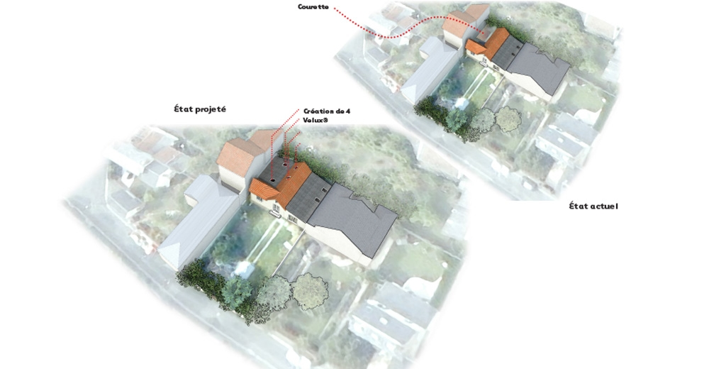Extension et restructuration d'une maison individuelle  Orléans