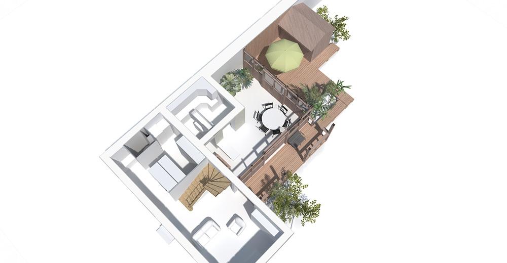 Restructuration et extension d'une maison individuelle  Orléans